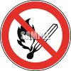Fire Prohibited Sign clipart