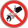 Campfires Prohibited Sign clipart