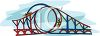 Large Roller Coaster clipart
