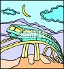 A MagLev Passenger Train clipart