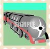 A Steam Train clipart
