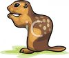 A Spotted Chipmunk clipart