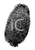 Fingerprint Forensic Evidence clipart