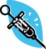 Old Fashioned Syringe clipart