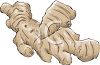 Ginger Root for Health Care clipart