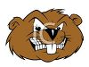 Cartoon Beaver Sports Mascot clipart