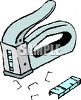 Staple Gun and Staples clipart