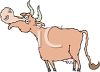 Cow With Horns clipart
