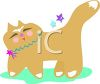 Whimsical Kitty Cat clipart