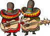 Mysterious Mariachi's clipart