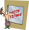 Window Shopper Metaphor clipart