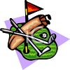 Golf Equipment clipart