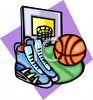 Basketball Equipment clipart
