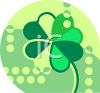 Four Leaf Clover Icon clipart