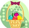 Easter Basket Icon clipart