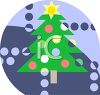 Christmas Tree Icon clipart