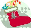 Christmas Stocking Icon clipart