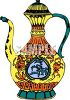 Elaborate Oil Pitcher clipart