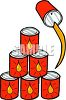 Cans Of Motor Oil clipart