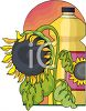 Sunflower Oil clipart