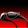 A Pair Of Dark Sunglasses clipart