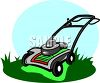 A Lawnmower clipart
