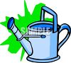A Metal Watering Can clipart