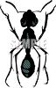 Black Ant clipart