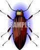 Common Brown Beetle clipart