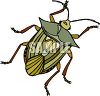 Leaf Eating Beetle clipart
