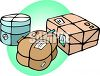 Packages Ready to be Mailed clipart