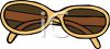 Pair of Women's Glasses clipart