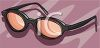 Pair of Thick Glasses clipart
