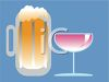 Beer and Wine clipart