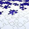 3D Jigsaw Puzzle with Missing Pieces clipart