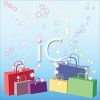 Shopping Bags Background clipart