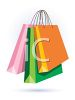 Colorful Shopping Bags clipart