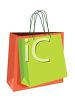 Two Shopping Bags clipart