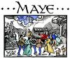 Old English Zodiac Calendar for Maye clipart