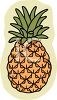 Whole Pineapple clipart