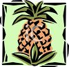 Pineapple Icon clipart