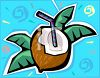 Coconut Design  clipart