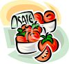 Tomatoes on Sale clipart