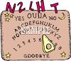 Cartoon Ouija Board clipart
