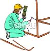 Female Builder clipart