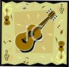 Guitar Icon clipart
