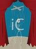 Skeleton Marionette on a Stage clipart
