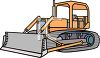 Snow Plow Illustration clipart