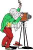 Old Timey Photographer clipart