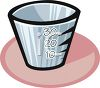 Dosing Cup for Liquid Medication clipart